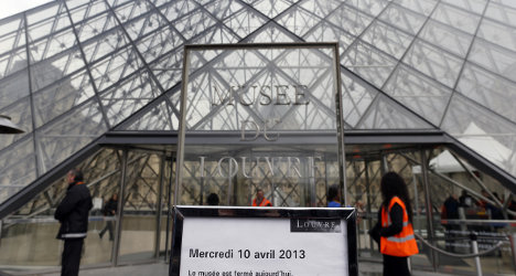 Paris Louvre gallery to reopen after staff strike