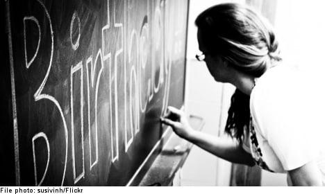 Many teachers in Sweden lack proper training