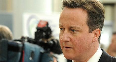 British PM visits Madrid in Europe reform push