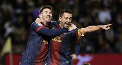 'Messi will be Barca's key in Munich': Xavi
