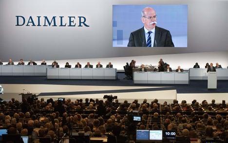 Daimler prepares for potential profit warning