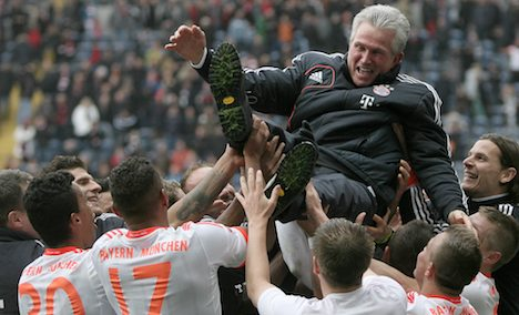 Bayern Munich claim historic title win