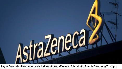 AstraZeneca hit by steep drop in profits