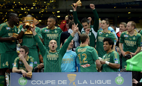 Saint Etienne end 32-year wait for silverware
