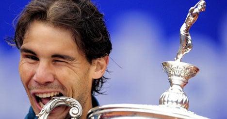 Rafa Nadal wins record eighth title in Barcelona