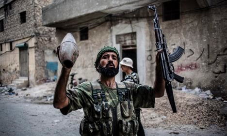 Germany re-considers Syria arms embargo