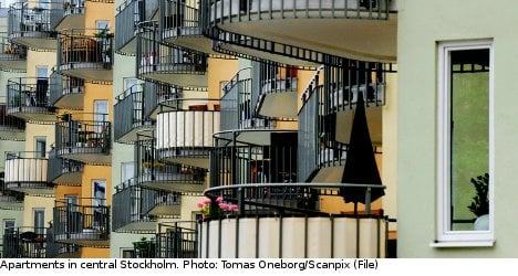 Stockholm flat prices hit new record high