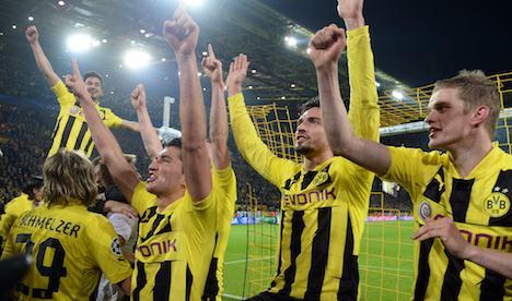 Klopp admits Dortmund lucky to make semis