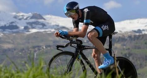 Britain's Froome wins Tour de Romandie