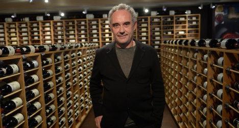 'World's best chef' flogs off elBulli wine cellar