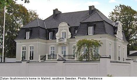 Zlatan puts Malmö mansion on the market