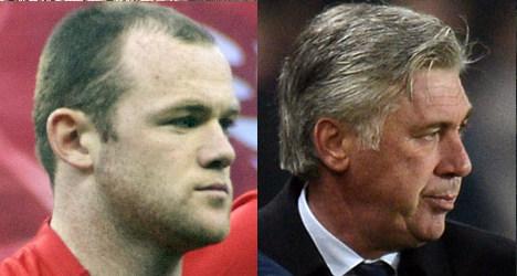 PSG coach Ancelotti denies Rooney rumours