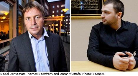 Bodström slams Social Democrats over Mustafa
