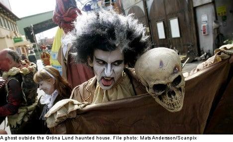 Abused ghosts lambast Stockholm theme park
