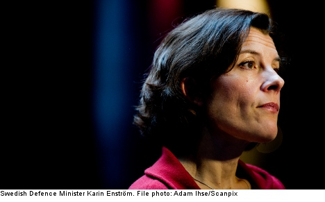 Swedish military leaks concern defence minister