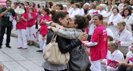 French Senate adopts gay marriage bill