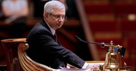 Gunpowder sent to head of French parliament
