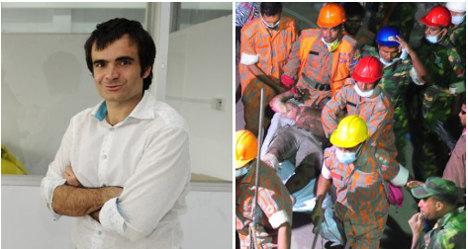 Spanish man linked to Dhaka factory disaster