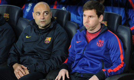 Barça hopeful on Messi's fitness for Bayern clash