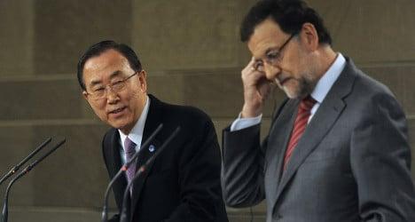 Spain falls short on international aid goals