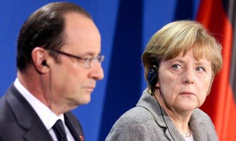 Merkel: we're still friends with France