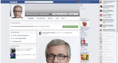 Irish Facebook flirt uses Catalan mayor pics