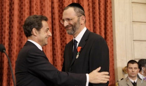 Grand Rabbi of France in plagiarism scandal