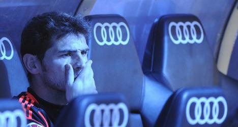 Vandals deface Iker Casillas tribute