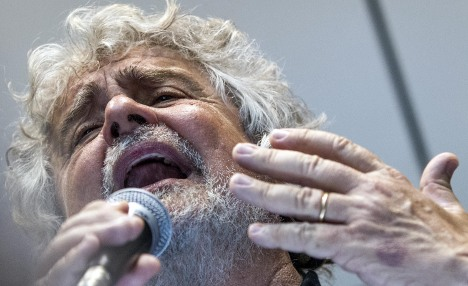 Upstart Grillo demands 'German invasion' of Italy