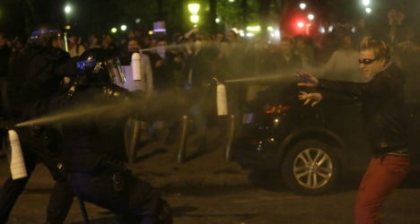 Hollande denounces 'homophobic' violence