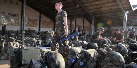 France begins troop withdrawal from Mali