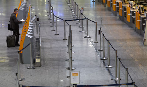 Lufthansa strikes hit German airports