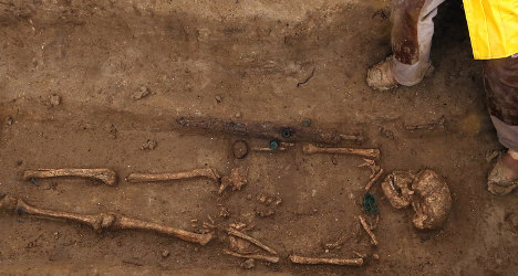 Gaul warriors unearthed at 2,300-year-old site