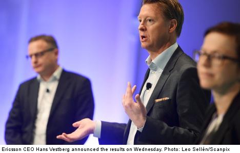 Revamp dampens Ericsson profits