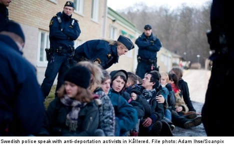 Sweden picks up speed in deporting minors