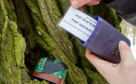 Treasure hunt takes on modern GPS twist