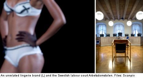 Swedish bra saleswoman wins discrimination case