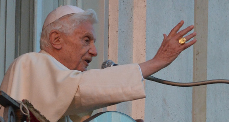 Benedict XVI marks 86th birthday in summer home