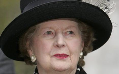 Germany's Merkel praises Thatcher's legacy