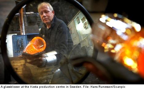 Swedish glassmaker shifts jobs overseas