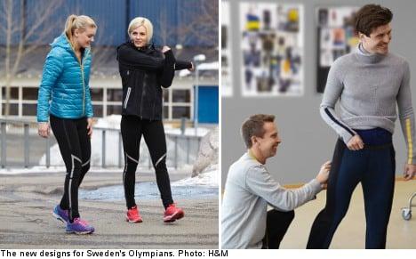 H&M set to dress Sweden's Olympians