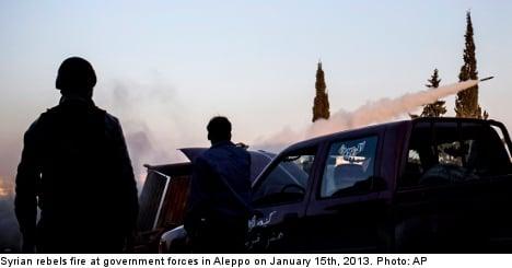 Swedish Islamists in Syria leave Säpo 'worried'