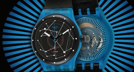 Swatch unveils 51-piece mechanical watch