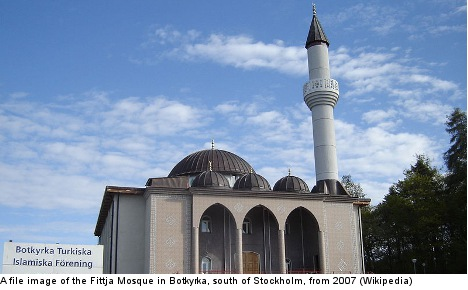 Police allow prayer calls at Stockholm mosque