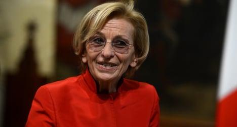 Militant feminist in new Italian cabinet line-up