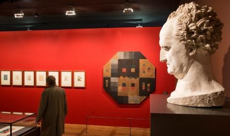 Louvre art exhibition raises German hackles