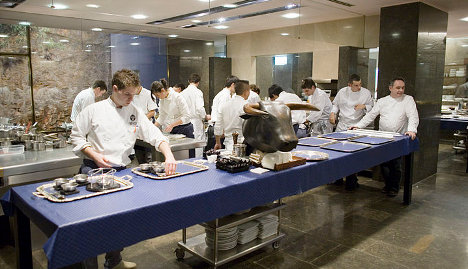 Buyer gobbles up chance to eat with elBulli chef