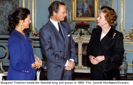 Sweden reacts to Thatcher's death