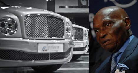 Paris firm sues Senegal's Wade over car bill