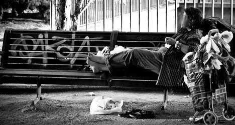 Homeless crisis hits Spain's educated elite